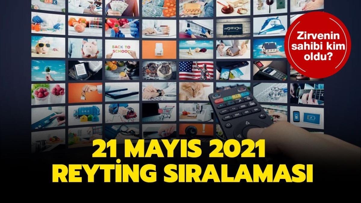 21 Mayıs 2021 reyting sıralaması! Kırmızı Oda, Bozkır Arslanı Celaleddin, Arka Sokaklar reyting sonuçları açıklandı!