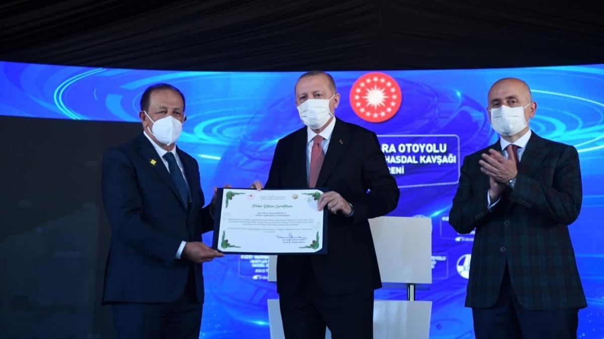 Başkan Erdoğan adına 4,7 milyon ağaç dikildi