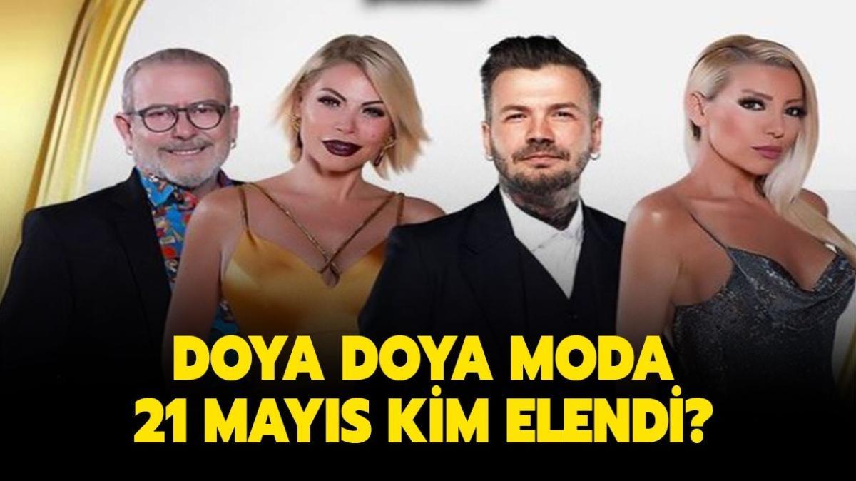 """Doya Doya Moda hafta birincisi kim oldu"""""""
