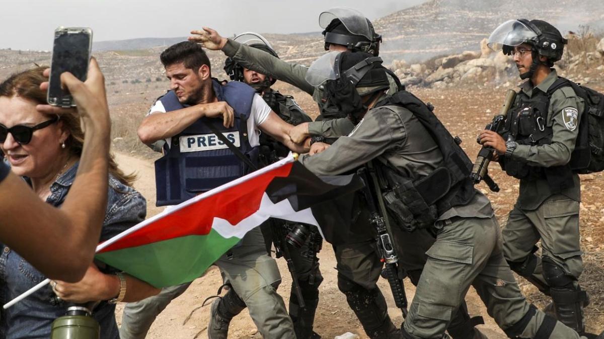 Filistin'de gazetecilere yapılan saldırılara Türkiye'deki meslektaşlarından tepki: Gazze'de meslektaşlarımızın can güvenliği yok