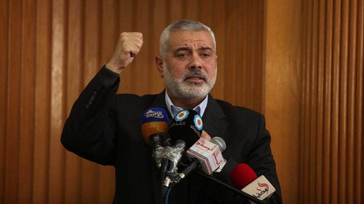 """Hamas lideri Heniyye: """"Direniş geri çekilmeyecek"""""""