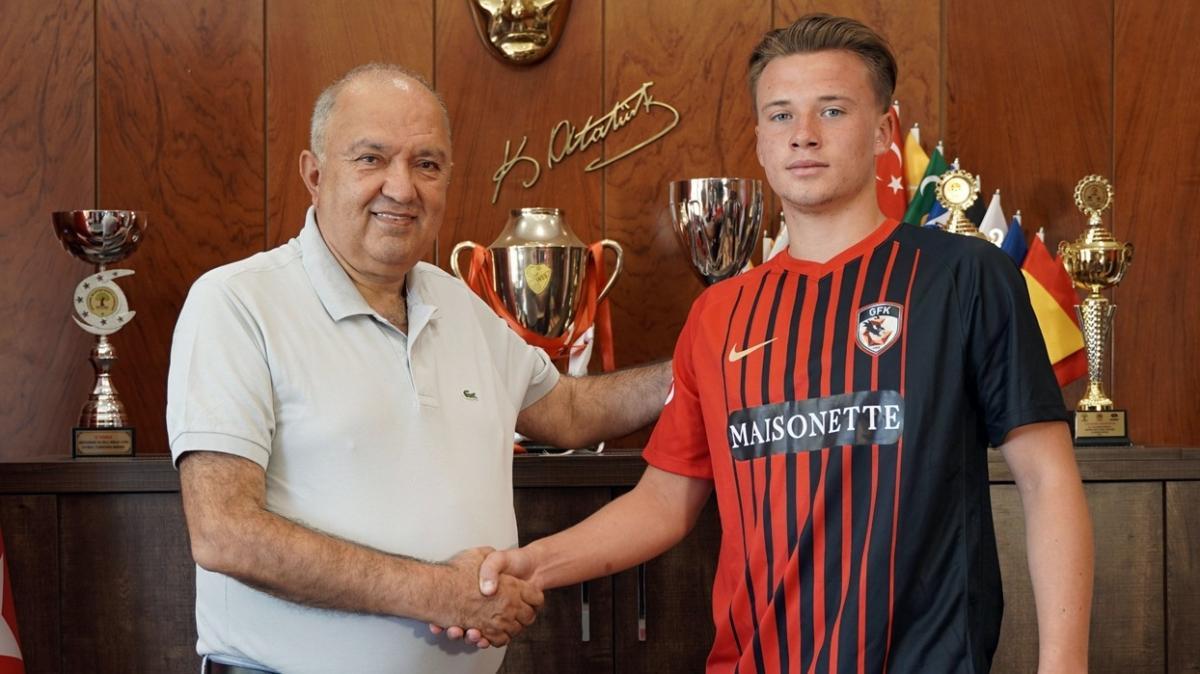 Son dakika haberi: Erol Bulut'un Gaziantep FK'ye ilk transferi Vladyslav Kobylianskyi oldu