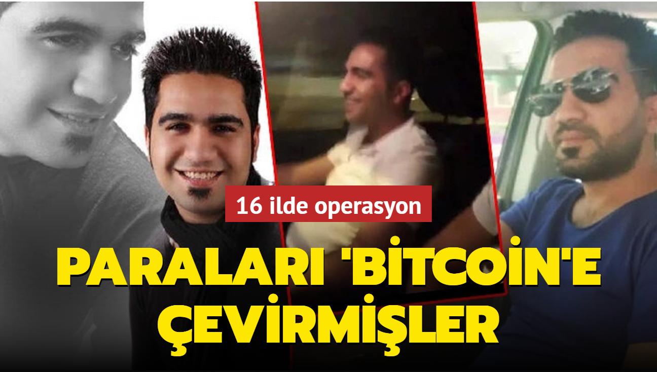 Diyarbakır merkezli 16 ilde operasyon! Paraları 'Bitcoin'e çevirmişler