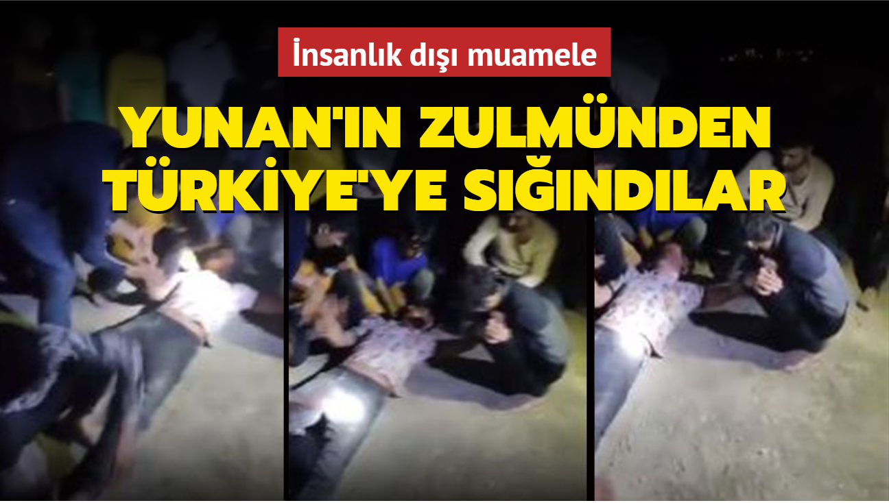 Yunan'ın zulmünden Türkiye'ye sığındılar