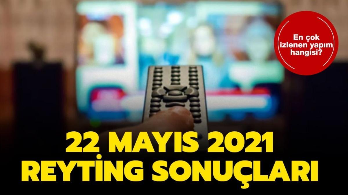 """22 Mayıs 2021 reyting sonuçları açıklandı! Kardeşlerim, Gönül Dağı, Savaşçı reyting sıralaması nasıl"""""""