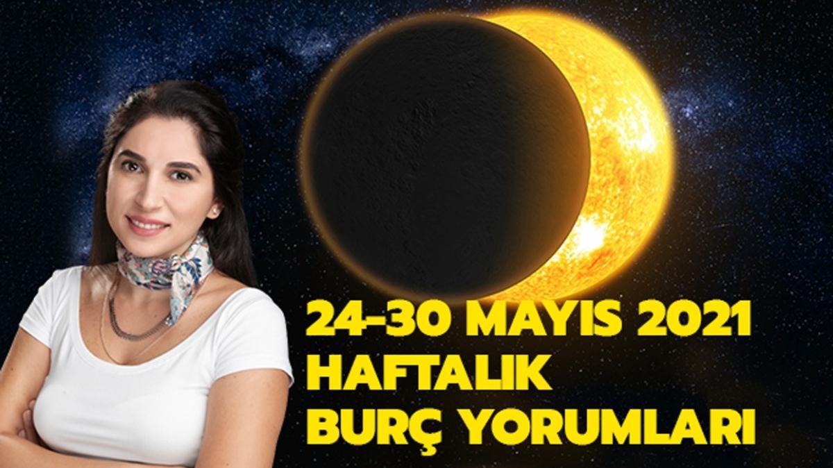 """24-30 Mayıs 2021 haftalık burç yorumları! Ay tutulması nasıl etkileyecek"""""""