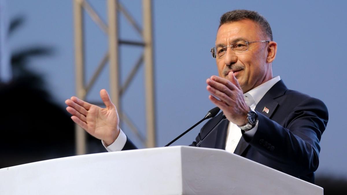 Cumhurbaşkanı Yardımcısı Fuat Oktay, Türkiye-KKTC Gençlik Buluşması'na katıldı