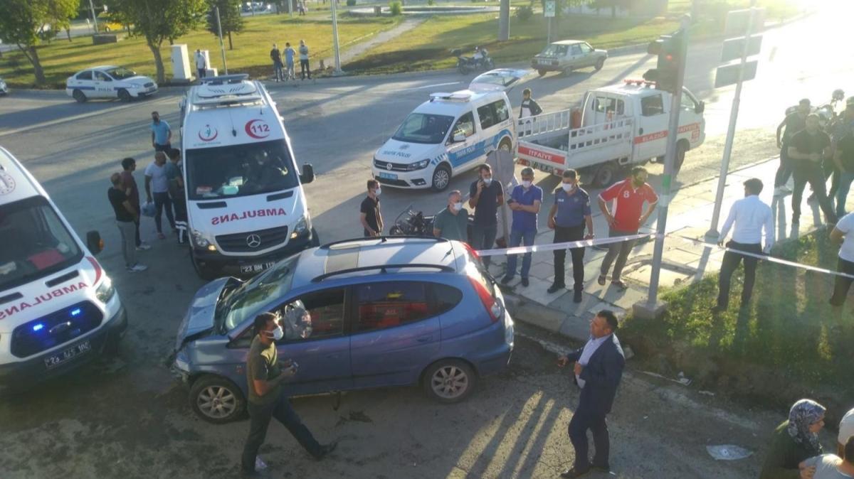 Elazığ'da zincirleme trafik kazası... Çok sayıda kişi yaralandı
