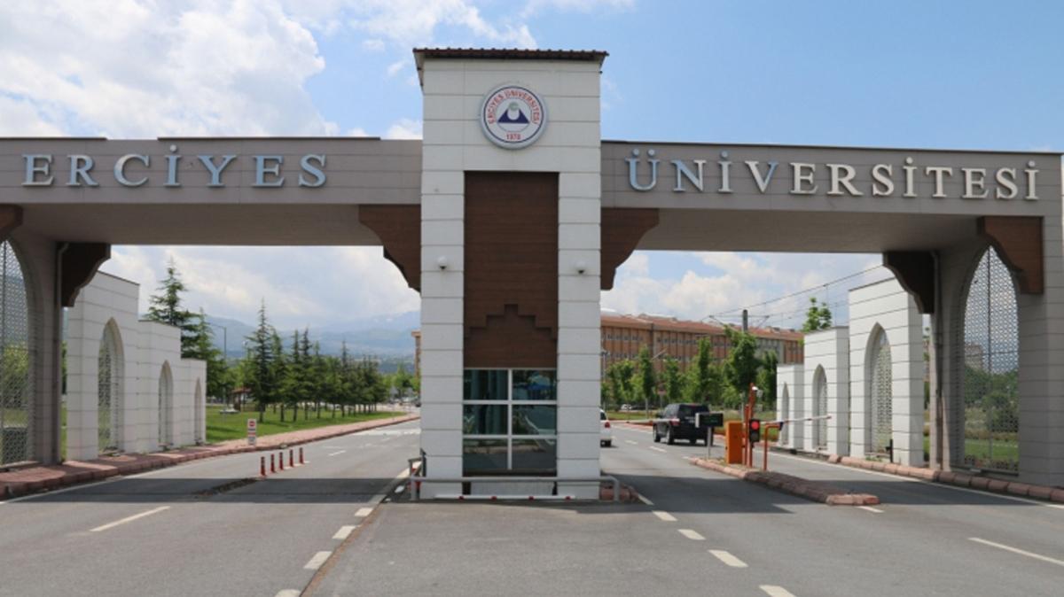 Erciyes Üniversitesi 31 öğretim üyesi alımı yapıyor!