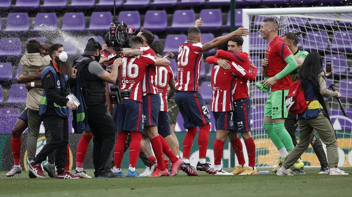 İspanya La Liga'da 2020-2021 sezonu şampiyonu Atletico Madrid!