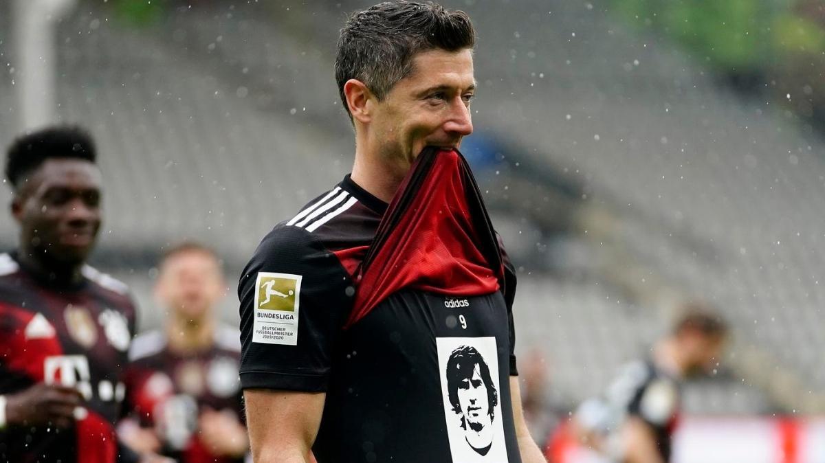 Gerd Müller'in rekorunu Robert Lewandowski kırdı