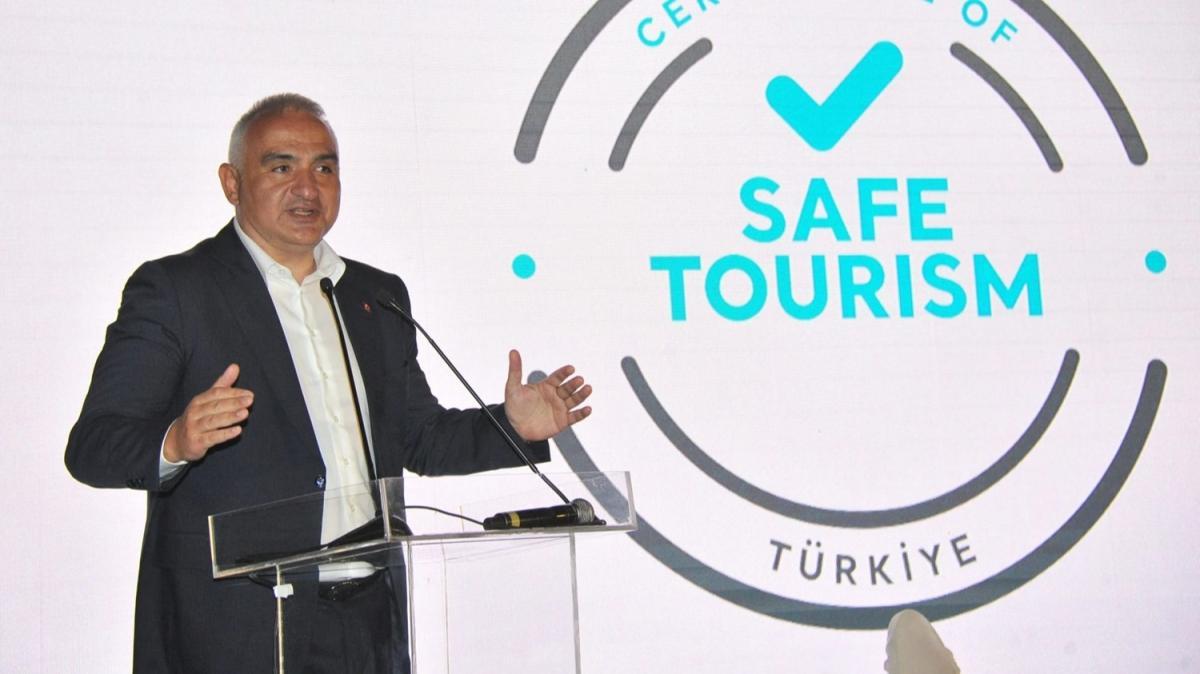 Kültür ve Turizm Bakanı Ersoy, uluslararası misyon temsilcilerini ağırladı