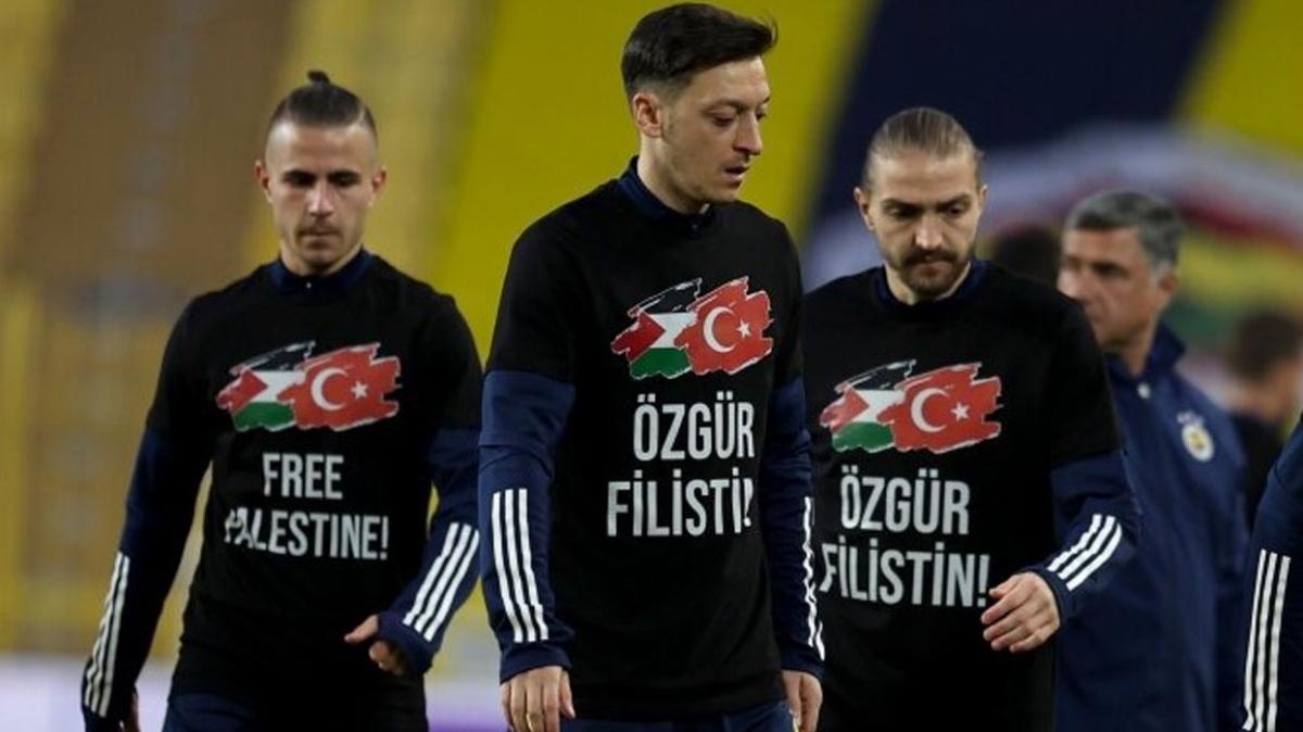 Mesut Özil'den Filistinli çocuklara yardım eli