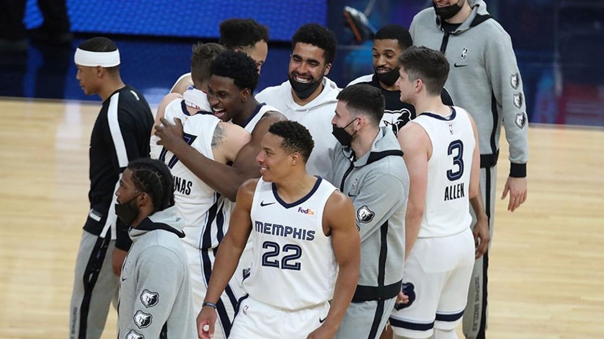 NBA'de play-off'un son yolcusu Memphis Grizzlies