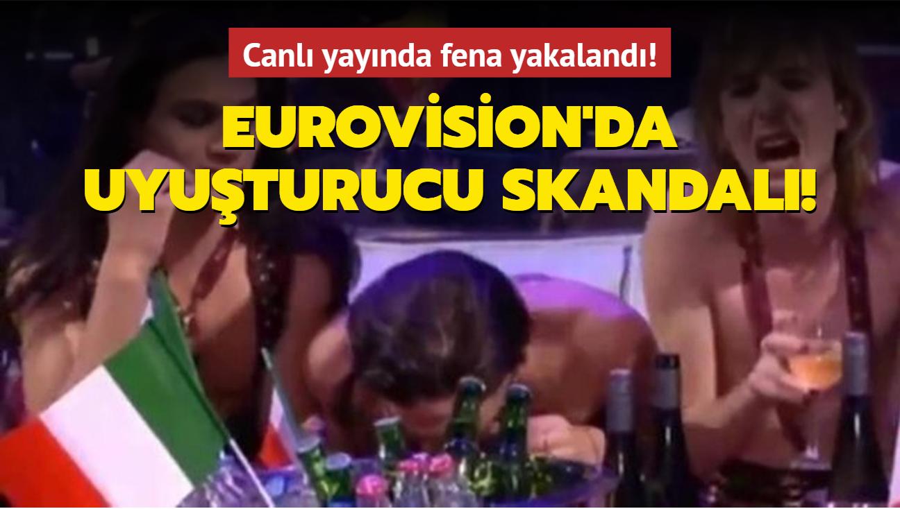 Eurovision'da uyuşturucu skandalı: Soruşturma başlatılacak