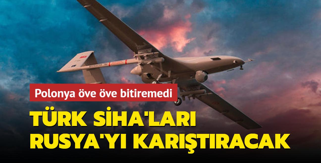 Polonya medyası: Rusya'nın uçaksavar savunmasını aşağılayan Türk savaş dronları
