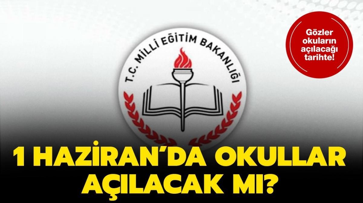 """1 Haziran'da okullar açılacak mı""""  Yüz yüze eğitim tarihi belli oldu mu"""" Bakan Selçuk açıkladı!"""