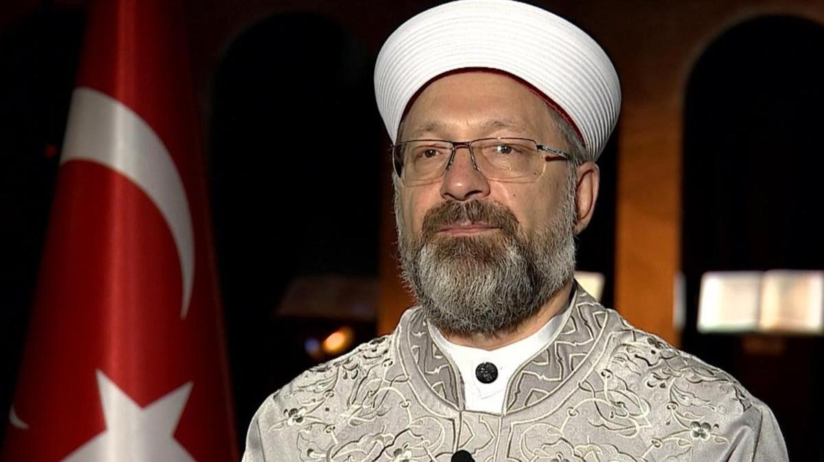 """Diyanet İşleri Başkanı Erbaş'tan """"İslamofobi"""" açıklaması: Akıl tutulmasıdır"""