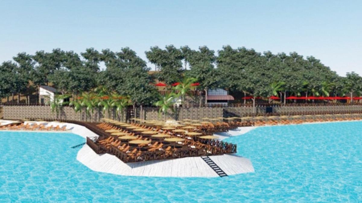 Marmaris'e 5 yıldızlı ücretsiz halk plajı