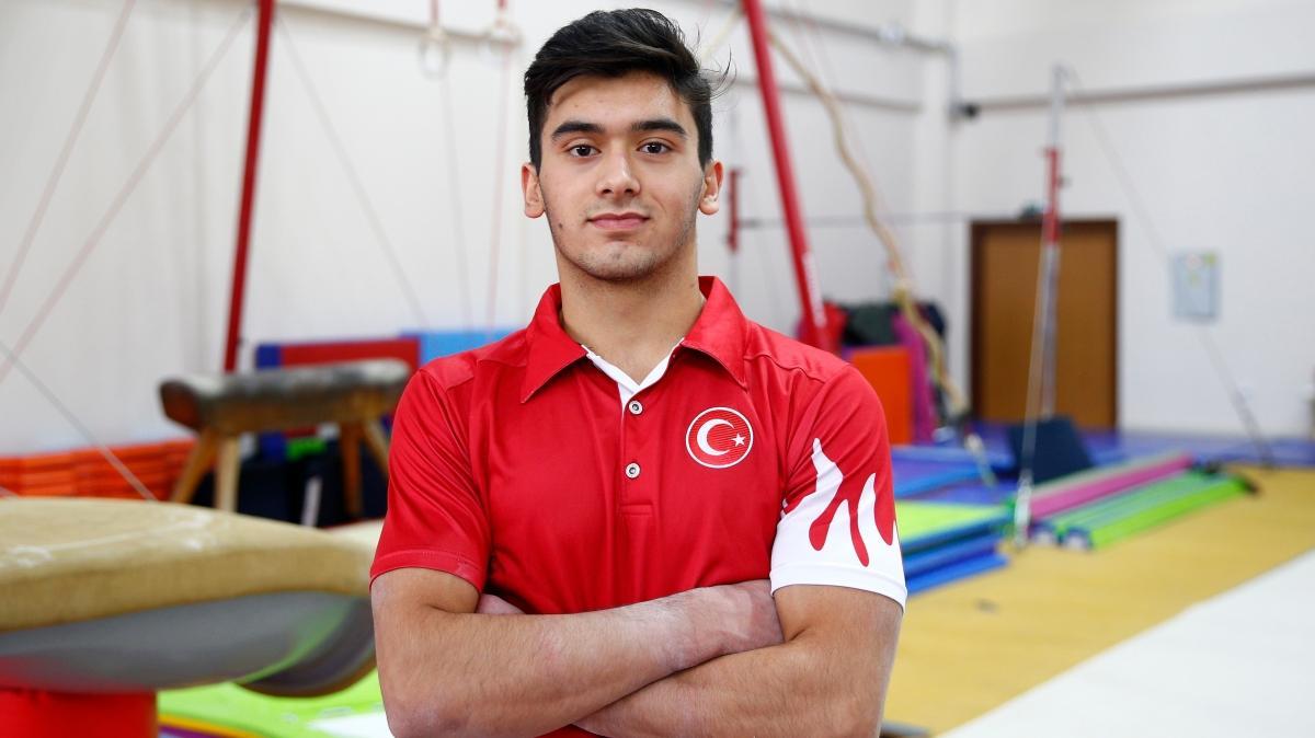 Mert Efe Kılıçer'den Uluslararası Artistik Cimnastik Turnuvası'nda altın madalya