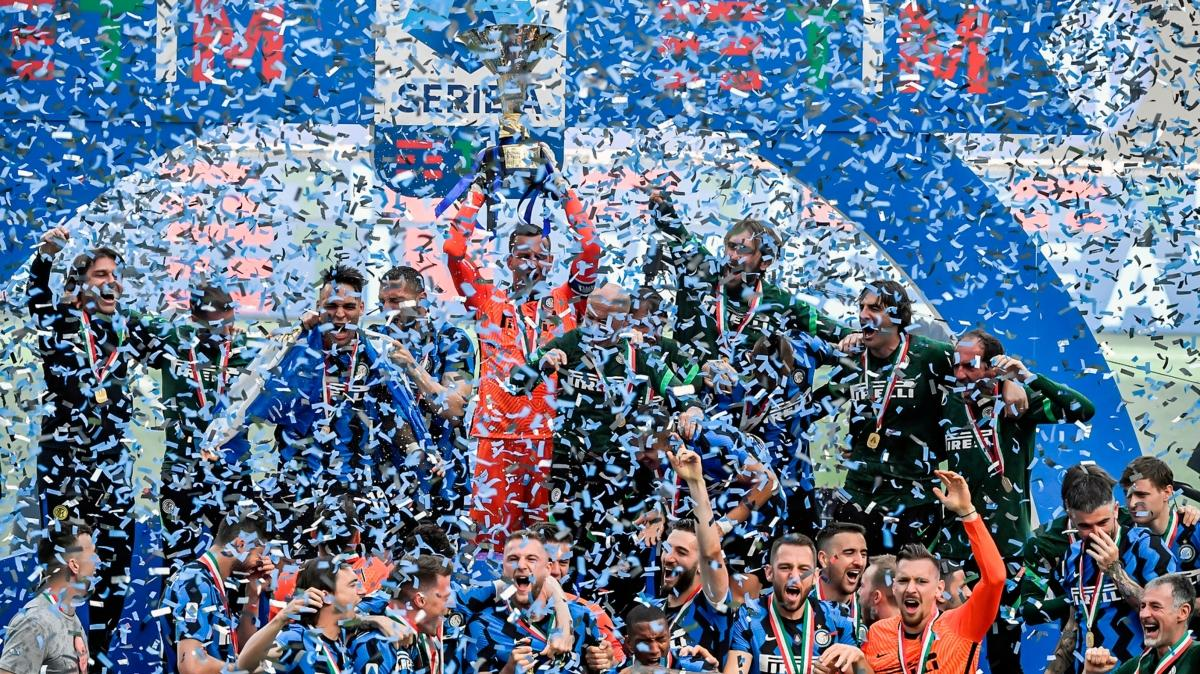 Şampiyon Inter'den muhteşem final: 5-1