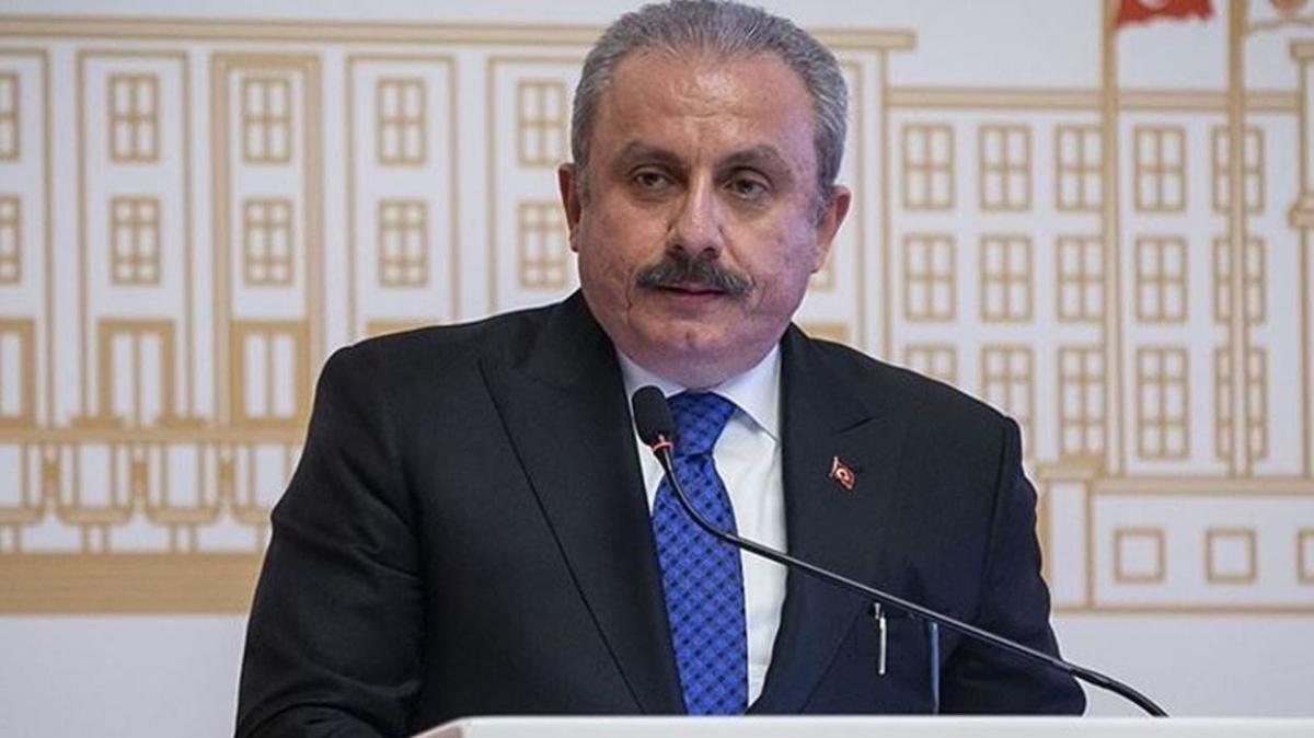 TBMM Başkanı Mustafa Şentop'dan Yunanistan'a tepki