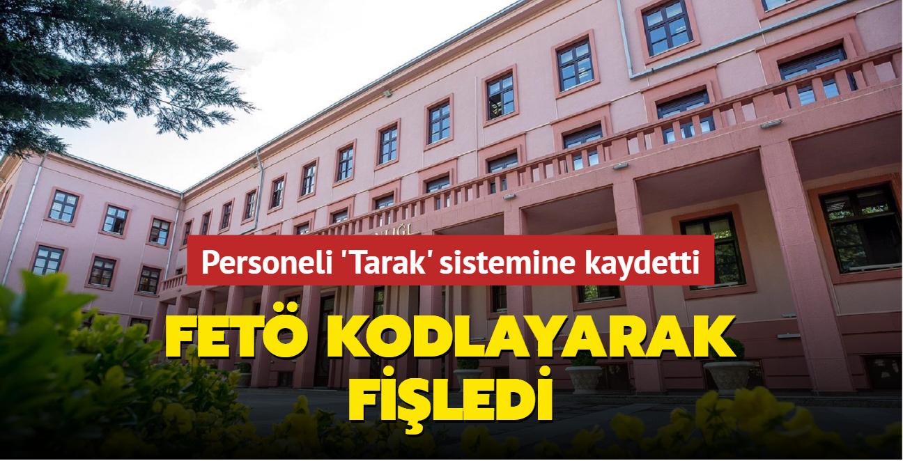 """FETÖ Adalet Bakanlığı personelini """"Tarak"""" sisteminde kodlayarak fişledi"""