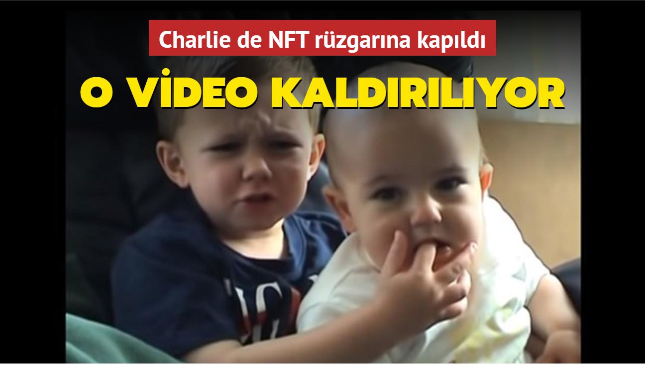 """Charlie bit my finger"" da NFT rüzgarına kapıldı"