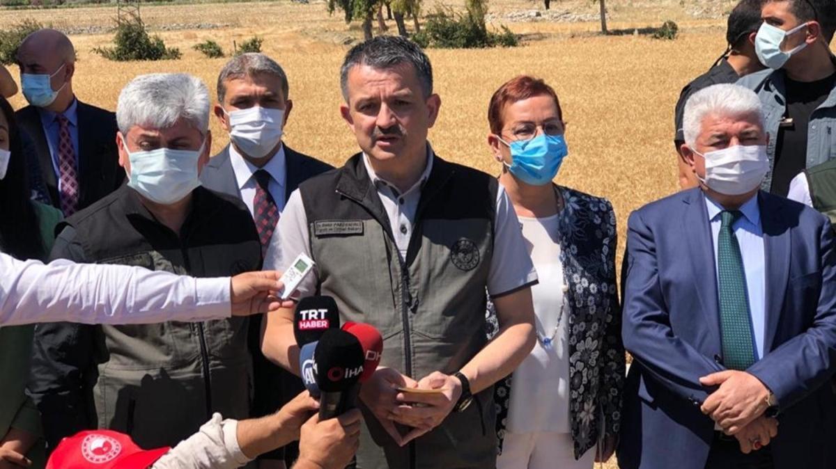 Bakan Pakdemirli: Tarım işçilerinin aşılanmasına başlanacak