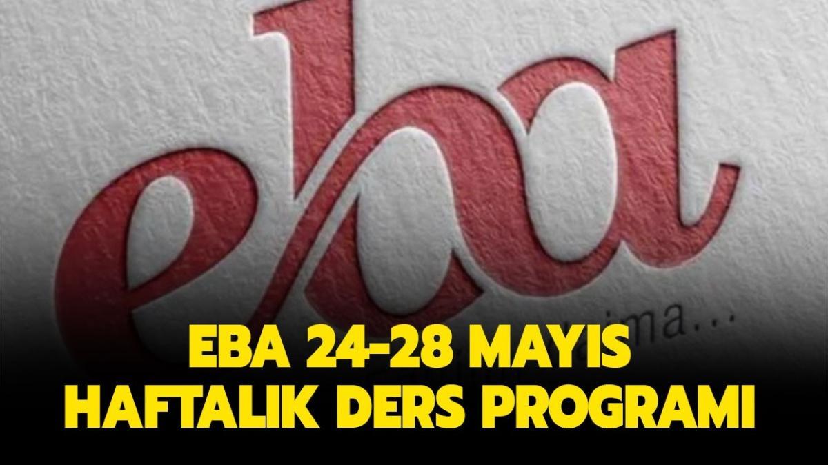 """EBA canlı derse nasıl giriş yapılır"""" EBA 24-28 Mayıs ders programı burada"""