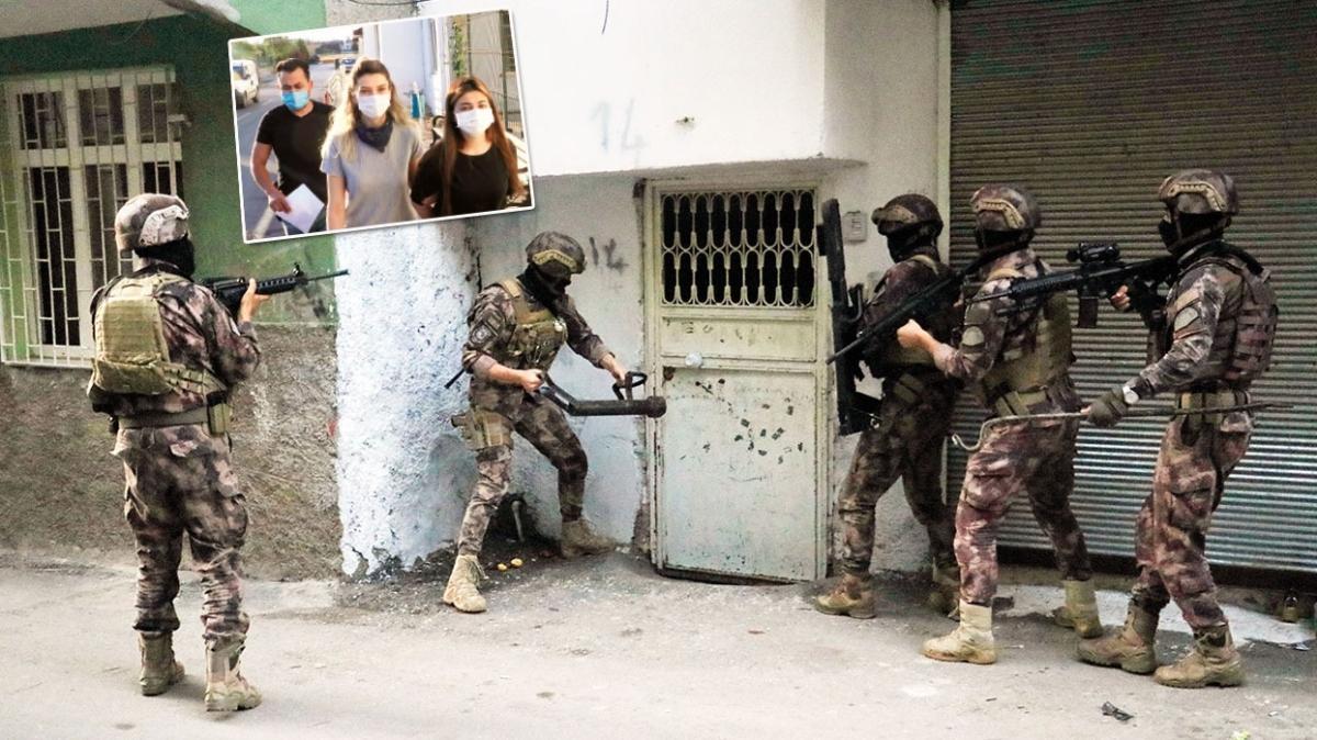 Kandil'e adam taşıyan 18 HDP'li gözaltında