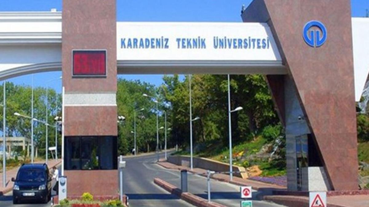 Karadeniz Teknik Üniversitesi öğretim görevlisi alımı yapıyor!