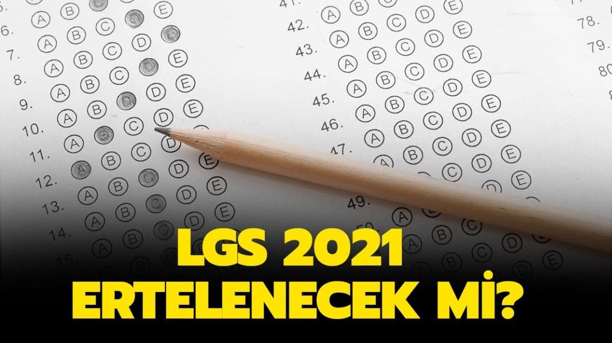 """LGS 2021 ertelenecek mi"""" Milli Eğitim Bakanı Selçuk'tan LGS açıklaması!"""