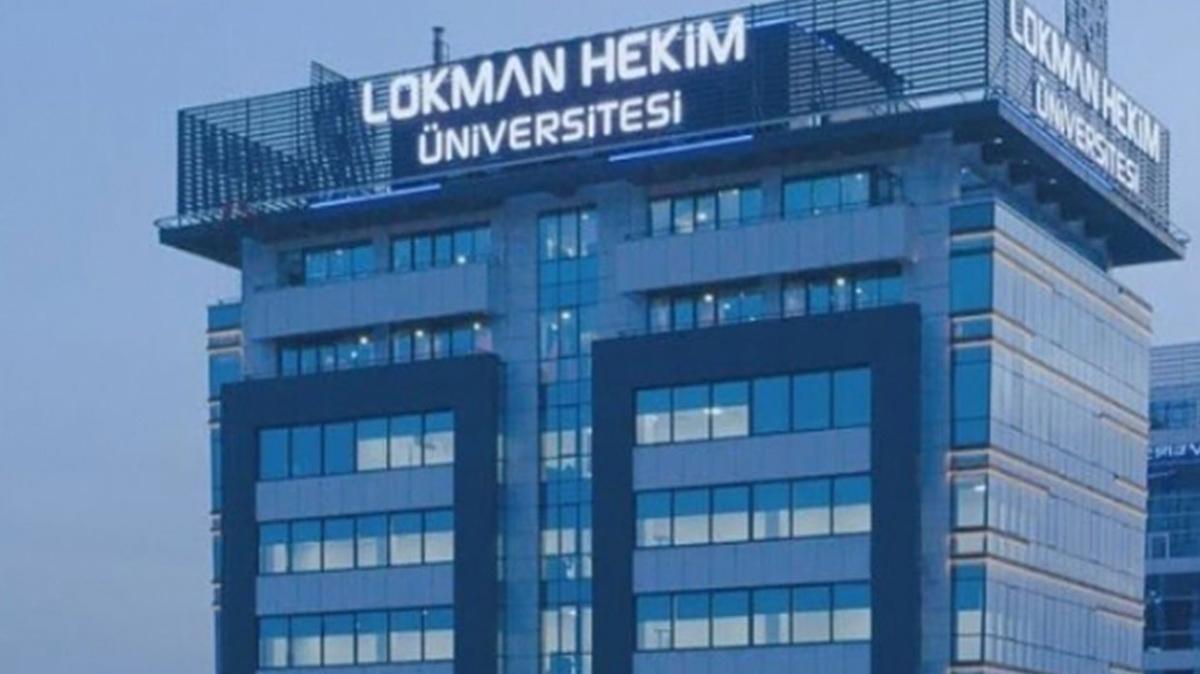 Lokman Hekim Üniversitesi 23 öğretim üyesi alacak!