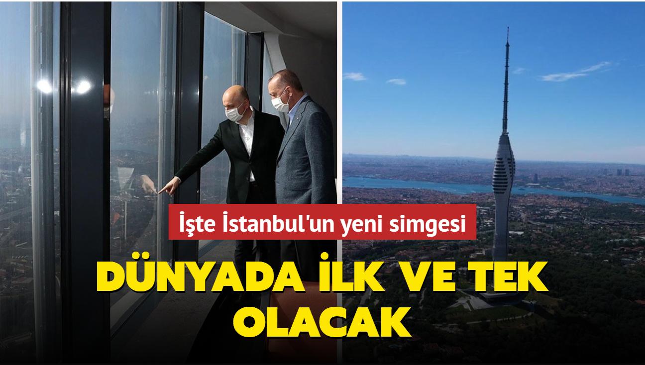 Çamlıca Kulesi Başkan Erdoğan'ın katılımıyla cumartesi günü açılıyor