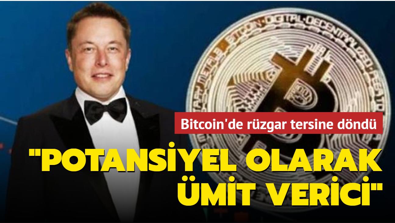 Elon Musk konustu Bitcoin'de rüzgar tersine döndü