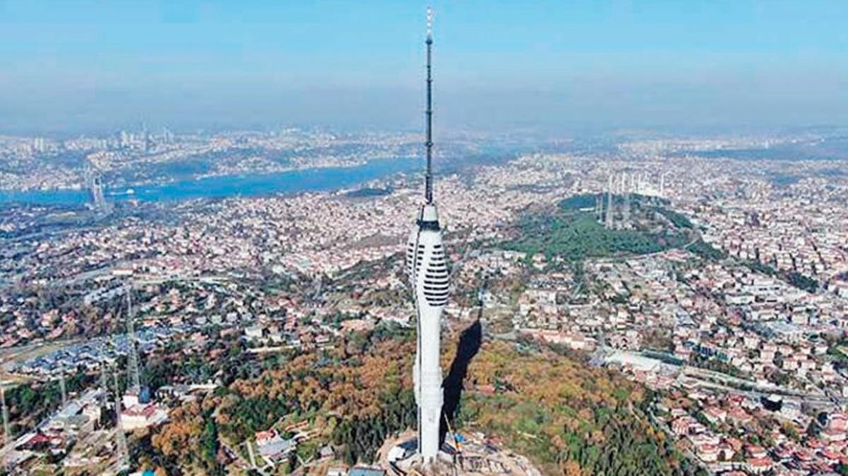 Çamlıca Kulesi 29 Mayıs'ta açılıyor