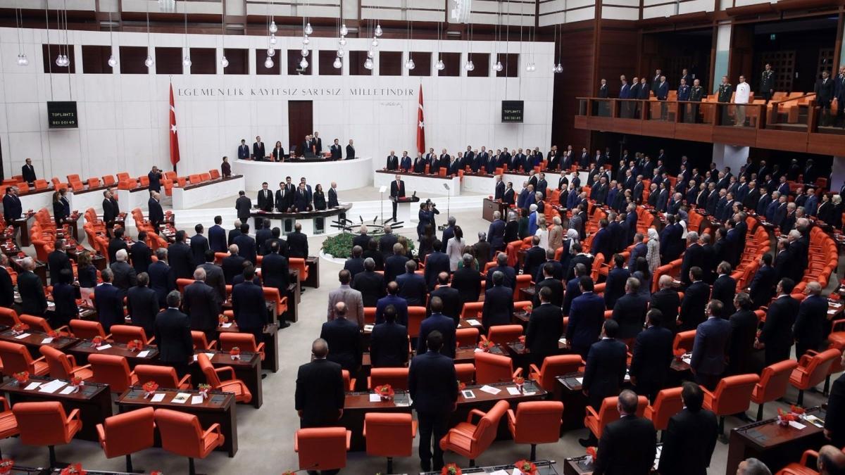 Ceza ve Güvenlik Tedbirlerinin İnfazı hakkında kanun teklifi Meclie'e sunuldu