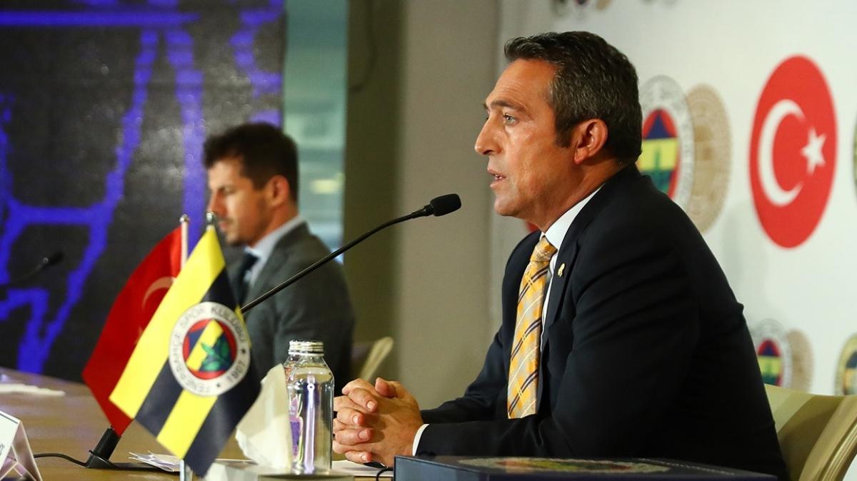 Fenerbahçe'de Ali Koç'tan Emre Belözoğlu ile devam kararı çıktı
