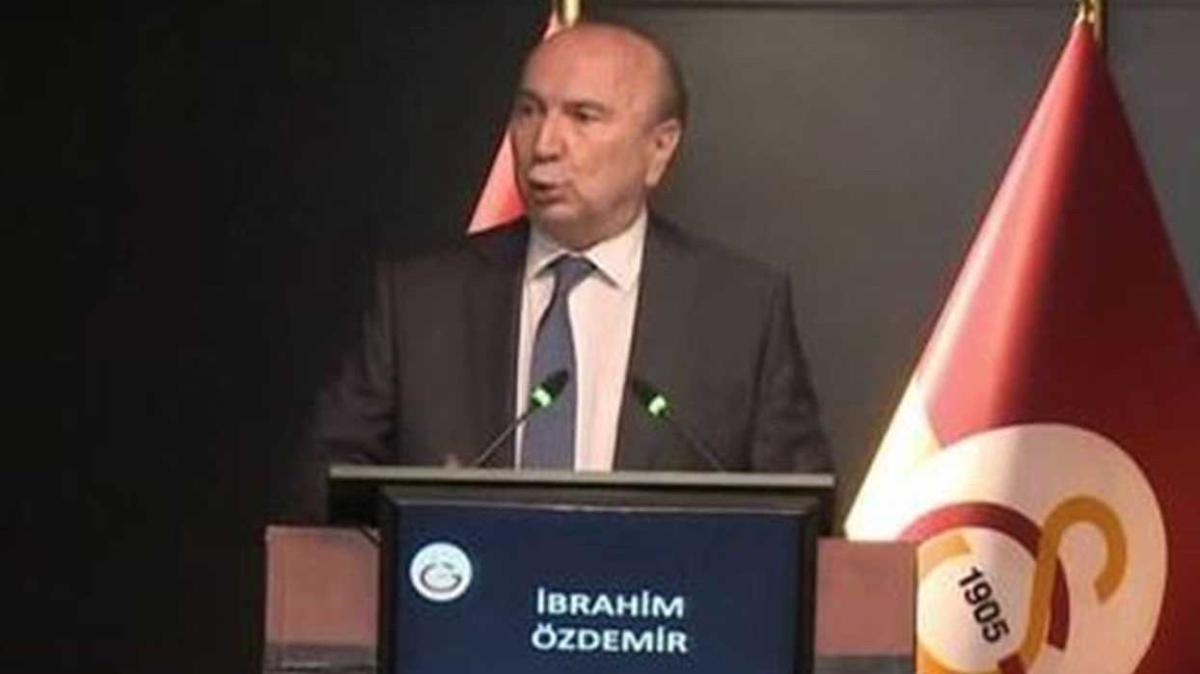 Galatasaray'da başkan adayı İbrahim Öztürk'ten Terim sözleri