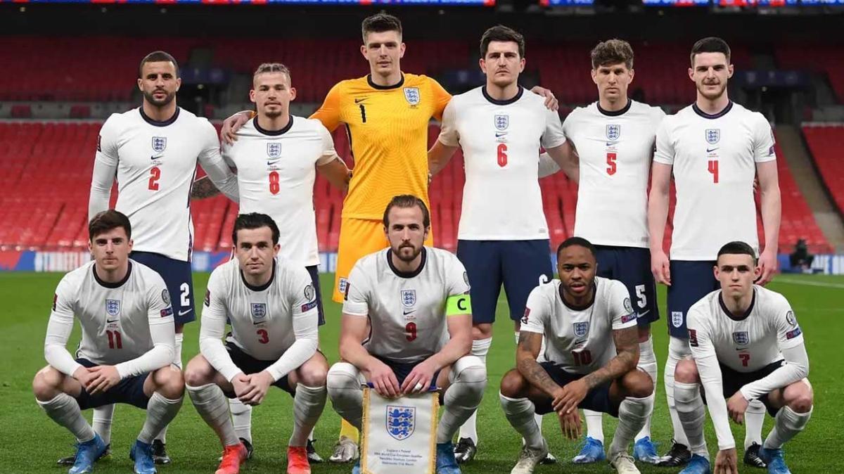 İngiltere 33 kişilik kadrosunu açıkladı