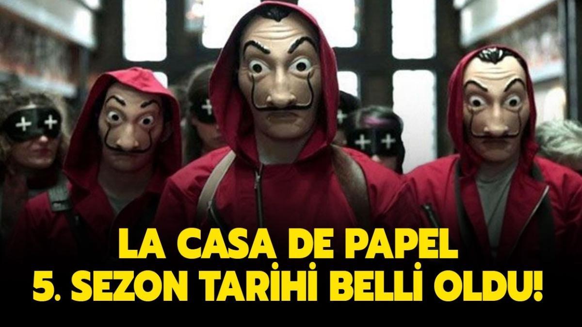 La Casa De Papel 5. sezon fragmanı yayınlandı! La Casa De Papel 5. sezon tarihleri belli oldu!