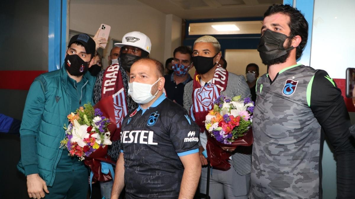 Son dakika transfer haberi: Gervinho ve Bruno Peres Trabzon'a geldi