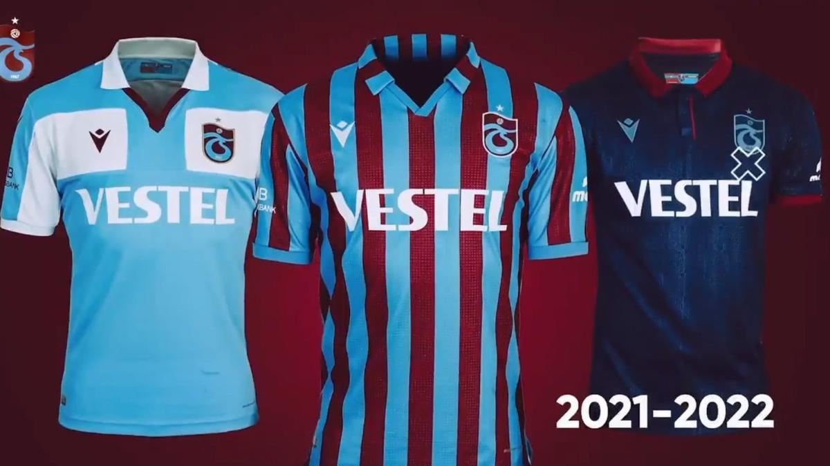 Trabzonspor, 2021-2022 sezonu formalarını tanıttı