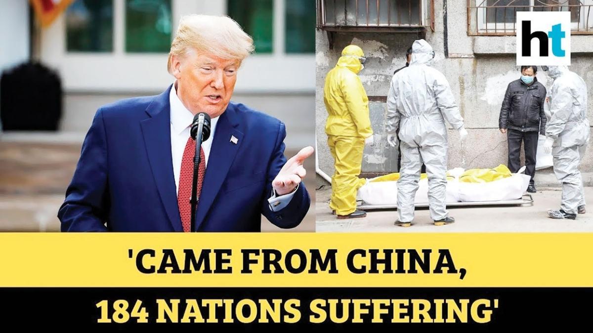 """Trump'a """"Çin virüsü"""" davası"""