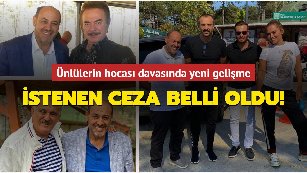 Ünlülerin hocası Salih Memişoğlu'nun katiline müebbet hapis istemi