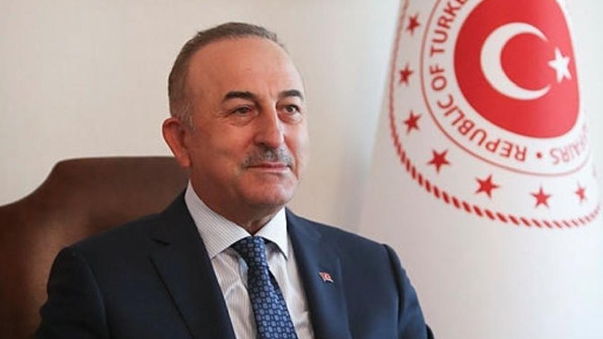 Bakan Çavuşoğlu: Gelen davet üzerine, 31 Mayıs'ta Yunanistan'a gideceğim