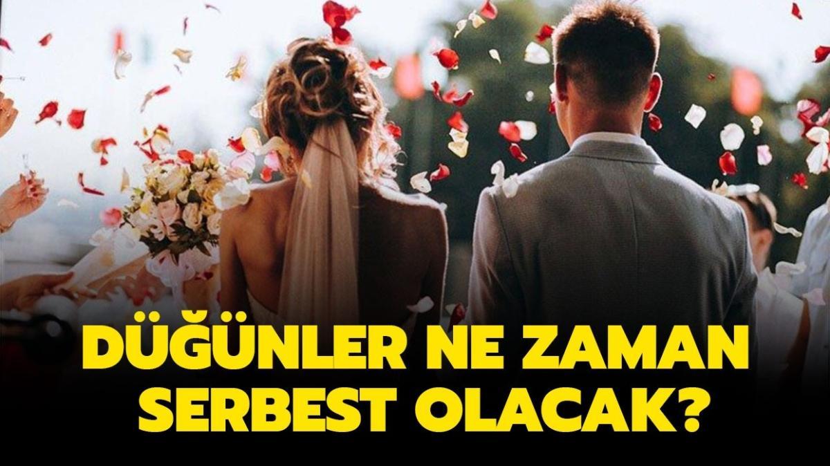 """1 Haziran'da düğün salonları açılacak mı"""" Düğünler ne zaman serbest olacak"""""""