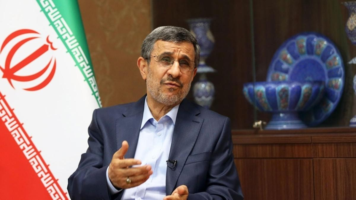 "Eski İran Cumhurbaşkanı Ahmedinejad'tan eleştiri: ""Hangi nedenle veto edildim"""""