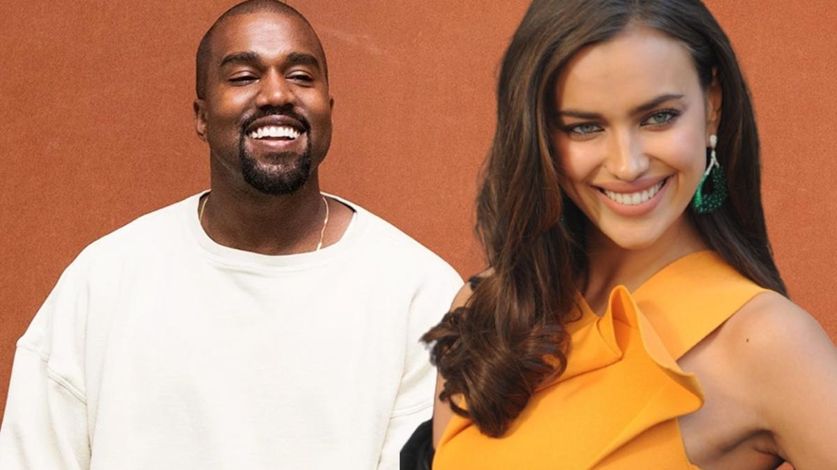 Kanye West hızlı çıktı! Irina Shayk ile aşk yaşadığı iddia edildi